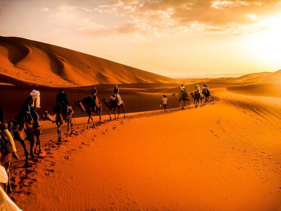 trips to Merzouga desert
